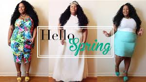 easter 2017 trends 5 plus size looks for spring