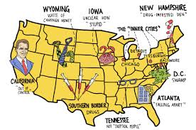 Heartland Community College Map Donald Trump U0027s State Of Mind Is All Over The Map Toronto Star