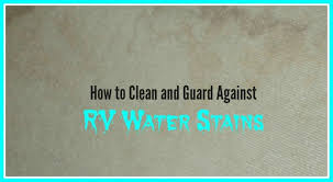 Best Way To Clean Rv Awning How To Clean And Get Rid Of Rv Water Stains Axleaddict