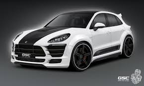porsche macan white german special customs pumps up the porsche macan