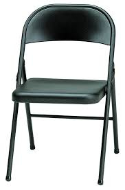 amazon com meco 4 pack all steel folding chair buff frame