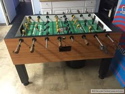 tornado tournament coin op foosball table