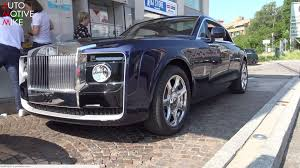 concept rolls royce see the rolls royce sweptail glide through the streets of france