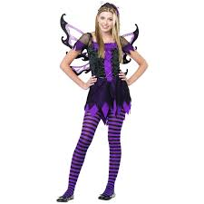 gothic halloween costumes for girls amethyst fairy teen girls junior dark gothic halloween