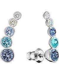 pierced earrings new savings on harley earlobe blue pierced earrings 2016