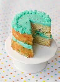 mini funfetti birthday cakes friends frosting