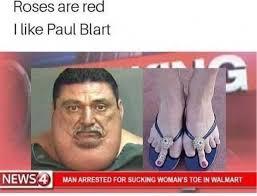 Red Memes - dopl3r com memes roses are red i like paul blart news man