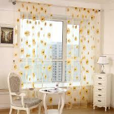 Sunflower Yellow Curtains Luxury Sunflower Kitchen Curtains Gorgeous Sunflower Kitchen
