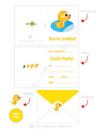 toddler birthday party duckie party