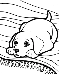 Cute Puppy Coloring Pages Getcoloringpages Com Puppy Color Pages