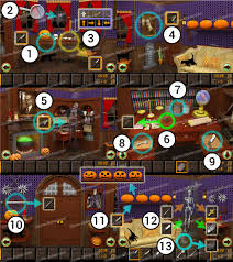 haunted halloween escape walkthrough game solver
