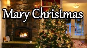 8 hours christmas fireplace christmas tree u0026 snowfall youtube