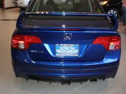 car picker blue honda civic