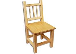 chaise enfant bois chaise en bois à décorer pour chambre d enfant kit création