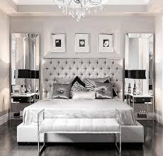 square reflect frame mirror black nightstand in glass leg modern