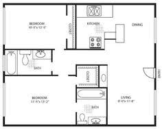900 Square Foot House Plans by 900 Square Foot House Plans Crestwood Senior Apartment Floor