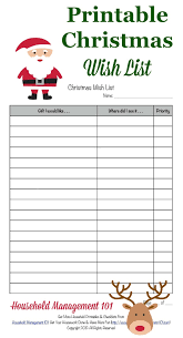 christmas wish list free printable christmas wish list for kids adults free