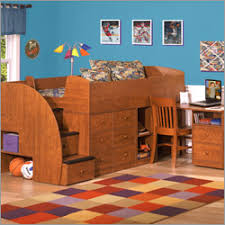 kids captain bed captain s bed with desk and stairs kids and baby design ideas
