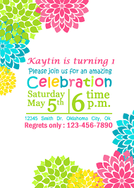 Printable Party Invitation Cards Summer Party Invitations Invitation Inspiration Pinterest