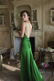 keira knightley in atonement u003e u003e u003e u003e u003e u201cgreen is the prime color of the