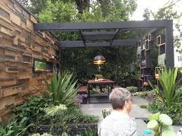 Outdoor Entertainment - an outdoor entertaining area u2013 easy simple landscaping ideas