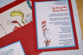 photo dr seuss invitations for image