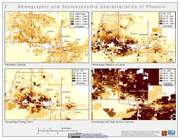 Map Phoenix Arizona by Maps U S Census Grids Sedac