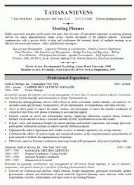 Event Coordinator Resume Template by Event Planner Resume With No Experience Event Planner Resume