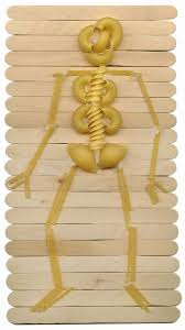 Skeleton Halloween Crafts 35 Best Skeleton Images On Pinterest Skeleton Craft Halloween