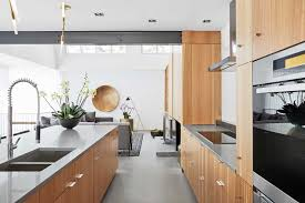 a gorgeous open concept modern home in calgary western living designer alykhan velji came on board when the white oak millwork was in process the goal with every space is that it has to be different from anything