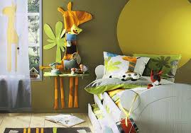 Creative Painting Ideas For Kids Bedrooms With Sunshine And Blue - Creative painting ideas for kids bedrooms