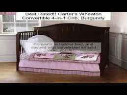 Jamestown Convertible Crib S Wheaton Convertible 4 In 1 Crib Burgundy Review