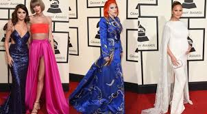 grammys 2016 lady gaga taylor swift all of the red carpet