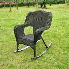 Resin Wicker Rocking Chair Resin Wicker Rocking Chairs Hand Woven Brown Resin Wicker Rocking
