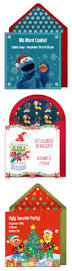 christmas cookie party invitations 109 best sesame street birthday images on pinterest sesame