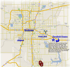 Oklahoma travel maps images Oklahoma city map tourist attractions map travel holiday gif