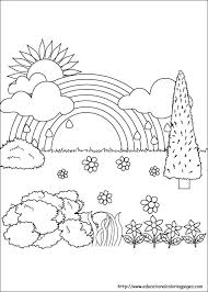 nature coloring pages colorings design ide 1824 unknown