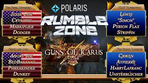 angryjoe vs yogscast guns of icarus rumblezone youtube