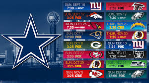 eagles vs cowboys on thanksgiving dallas cowboys 2017 schedule game predictions for entire season