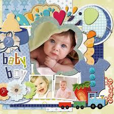 baby scrapbook album baby scrapbook templates baby scrapbook sles scrapbook