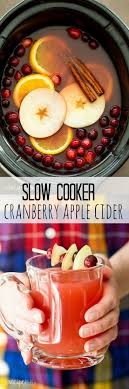 the drink this cooker cranberry apple cider