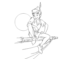 peter pan tinkerbell coloring pages disney coloring pages