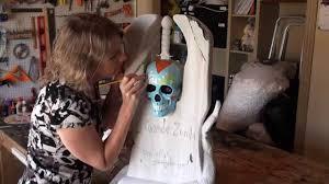 Halloween Prop Making by Swamp Voodoo Tombstone Halloween Prop Youtube
