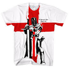 England Flag Colors St Georges Day Knight England Flag All Over T Shirt April Men