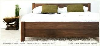 walnut bed frame walnut bed frame full walnut king size bed frame