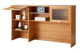 Realspace Magellan Collection L Shaped Desk Realspace Magellan Collection Hutch Honey Maple By Office Depot