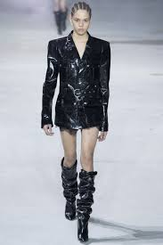 saint laurent fall 2017 ready to wear collection vogue