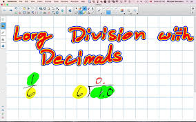 long division with decimals grade 8 nelson lesson 2 1 10 6 15