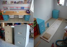 Diy Desk With File Cabinets Diy Desk Designs You Can Customize To Suit Your Style
