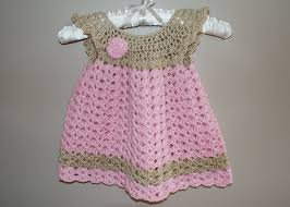 baby dress pinafore crochet newborn dress infant baby